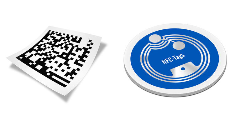 flashcode qr vs tag nfc quelles diff rences. Black Bedroom Furniture Sets. Home Design Ideas