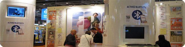 FRAM - Mondial du Tourisme Paris - Bluetooth, Flashcode, Internet Mobile