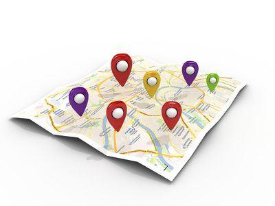 Géolocalisation Tags 2D
