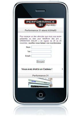 Site Mobile Salon Auto Piaggio Performance31