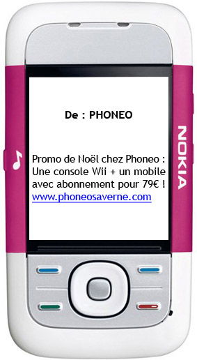 Phoneo Saverne - Campagne SMS