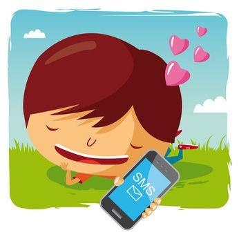 Pub par SMS