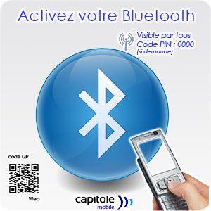 Signalétique Bluetooth - Stand Primus