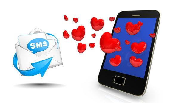 Campagne SMS pour la Saint Valentin